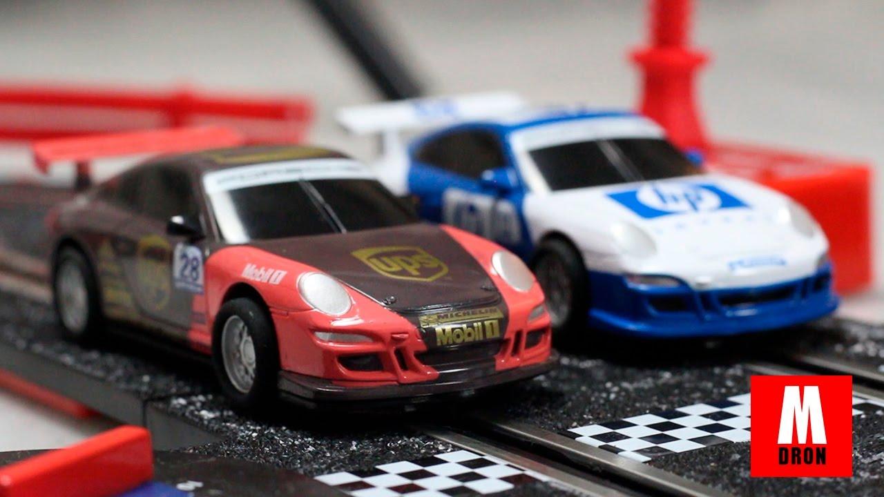Scalextric compact max speed con dos coches videos de - Jugueteria para adultos ...