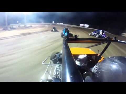 Southern Illinois Raceway | Outlaw Non-Wing A-Main | July 11th, 2015 | Collin Wece