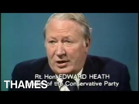 Conservative party - Edward Heath Interview - 1974