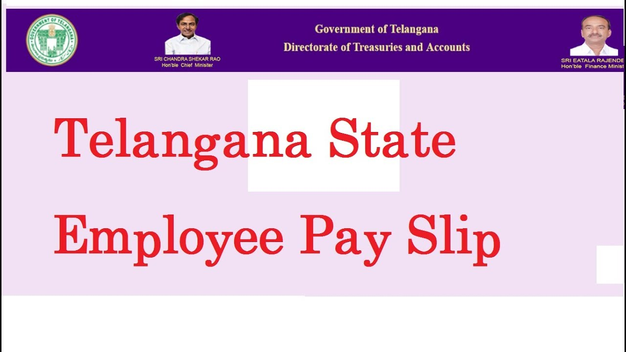 TS Employees\' Pay Slip Download - YouTube