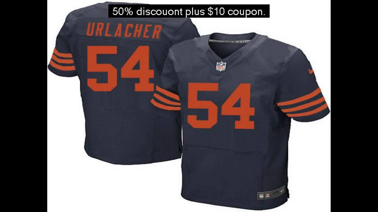 premium selection 2d540 54acd authentic brian urlacher jersey