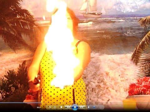 Огненная трубка для горящих пузырей своими руками