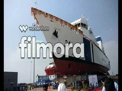 LAUNCHING CEREMONY SECOND OFFSHORE PATROL VESSEL (OPV) YARD-45002
