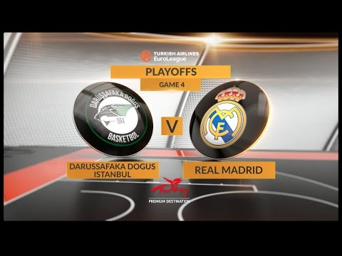 Highlights: Darussafaka Dogus Istanbul-Real Madrid, Game 4