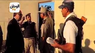 مدير أمن كفر الشيخ يتناول الإفطار مع المجندين