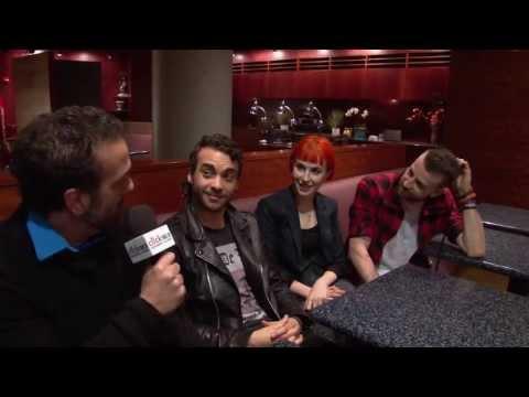 Click 98.9 AJ Interviews Paramore