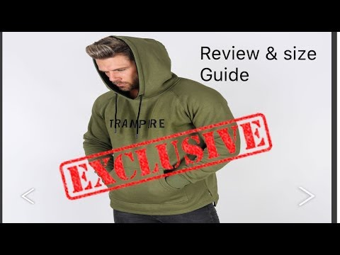 TRANSPIRE hoody.....my first impression!!