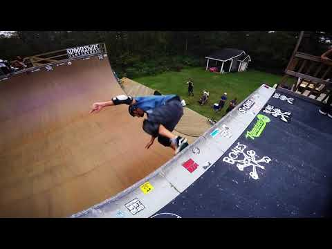 Brian Drake's Vert Ramp And Atlantic Beach Bowl, Fall 2017 Skate Trip