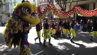San Francisco Carnaval Grand Parade 2019 Lion Dance Me