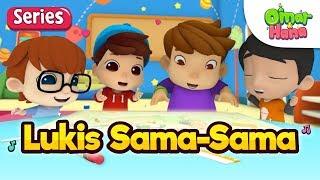 Cerita Kanak-Kanak Islam | Omar & Hana | Episod Istimewa | Lukis Sama-Sama