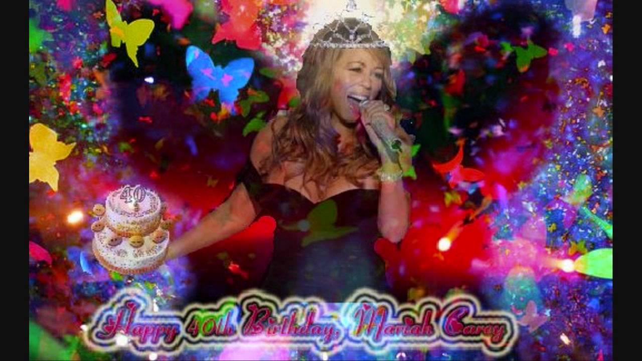 Happy Birthday Mariah Carey YouTube