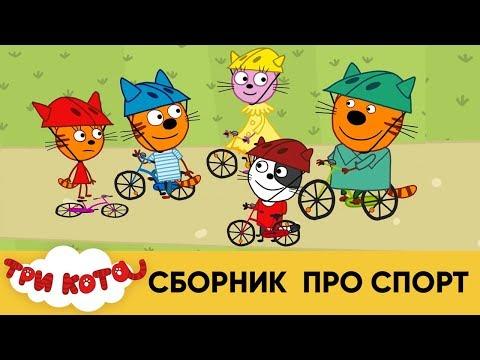 Три Кота | Сборник про спорт | Мультфильмы для детей