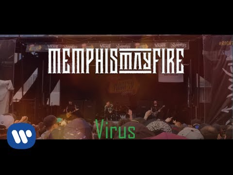Memphis May Fire - Virus (Warped Tour) Video Fan and