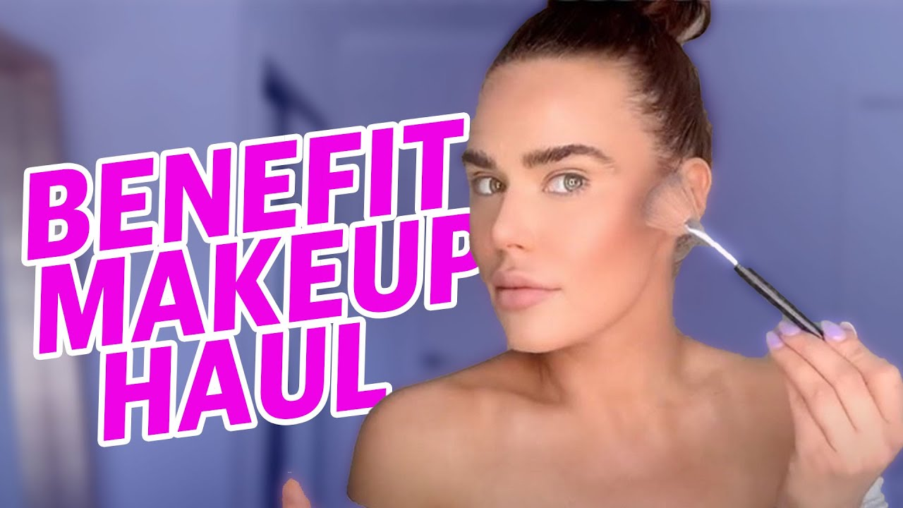 BENEFIT Makeup Try-on Haul | Lana WWE | CJ Perry