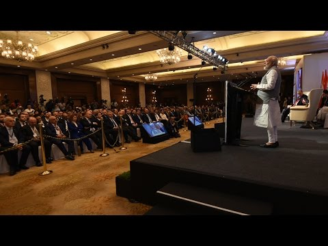 PM Modi's speech at at India-Turkey Business Forum