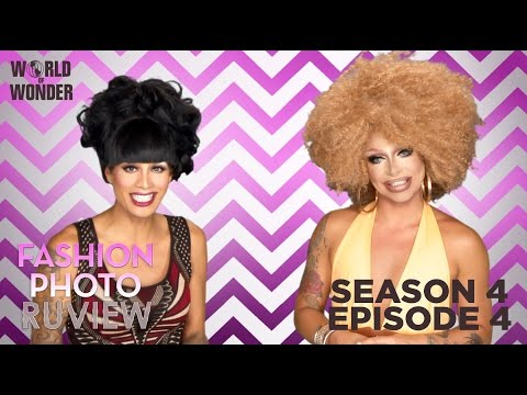 RuPaul's Drag Race Fashion Photo RuView with Raja and Raven: Season 4 Episode 4