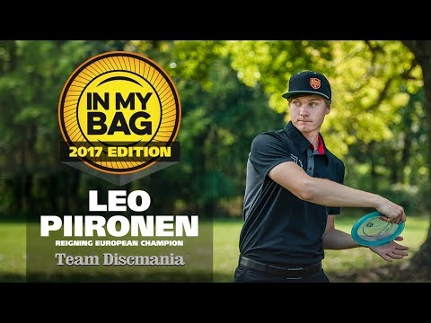 In My Bag with Leo Piironen - 2016 Disc Golf European Champion