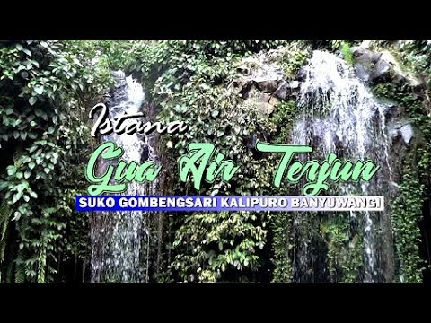 Air Terjun Istana Goa Atau Air Terjun Goa Pengantin Di Suko