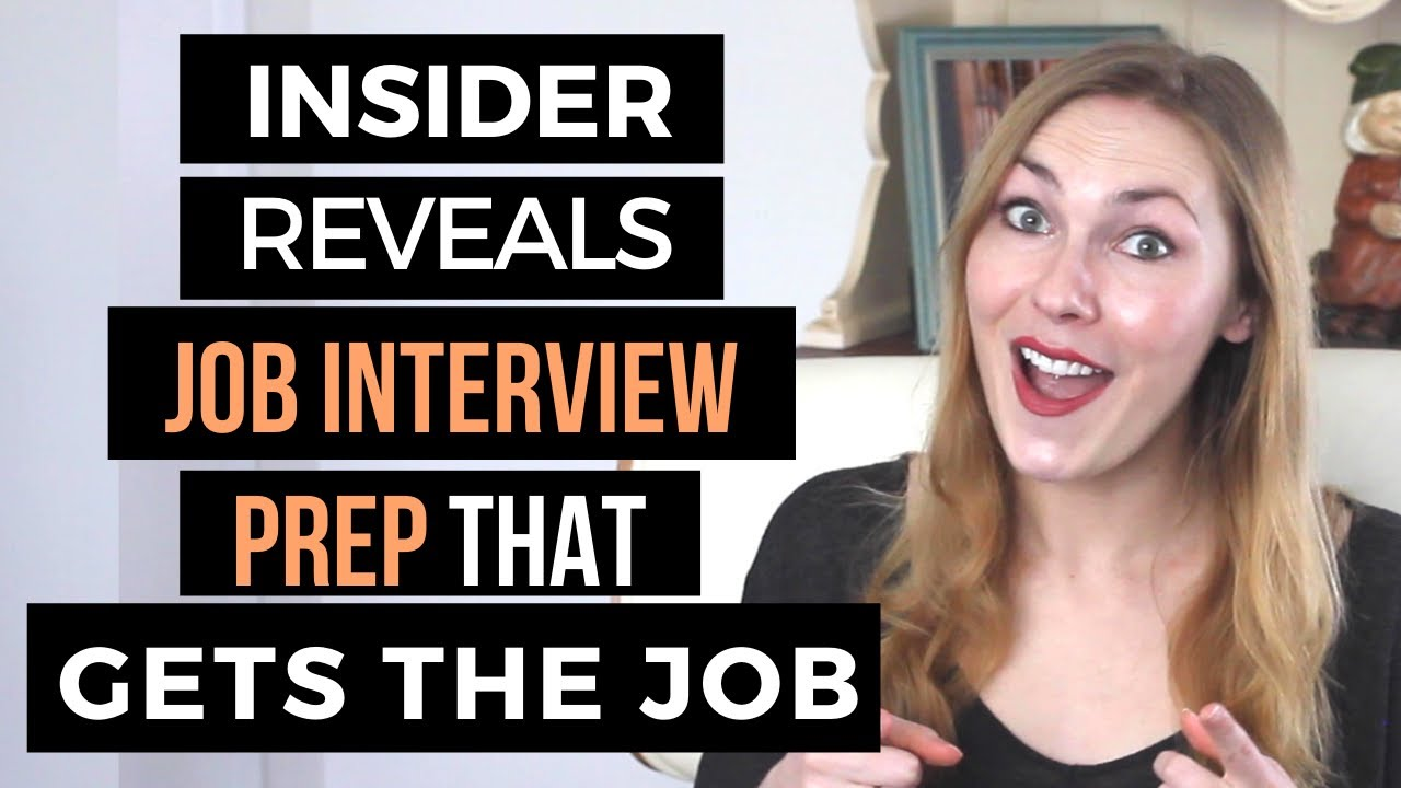How to Prepare for an In Person Job Interview (4 Things You MUST Do)