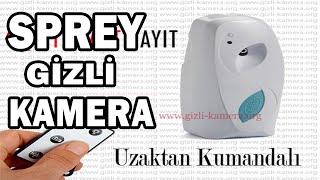 Oda Sprey Gizli Kamera kullanım Videosu