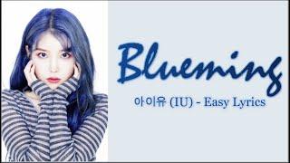 Gambar cover IU (아이유) - Blueming (블루밍) Easy Lyrics