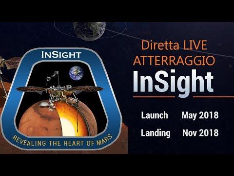 NASA InSight - Commento in diretta LIVE dell'atterraggio su Marte della sonda