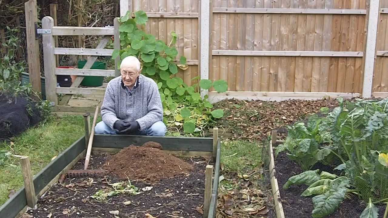 my new permaculture type raised bed vegetable garden youtube