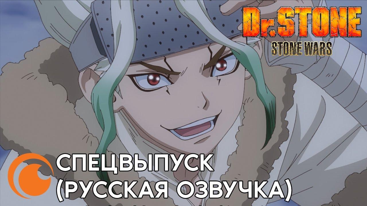 Dr.Stone Special / Доктор Стоун: Спецвыпуск | Первый сезон за 20 минут (русская озвучка)