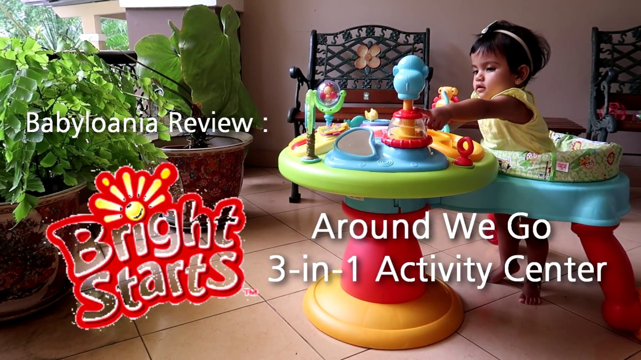 204392866 Babyloania Review   Bright Starts Around We Go 3-in-1 Activity ...