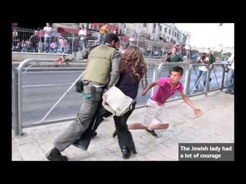 A Jewish woman saved a Palestinian child