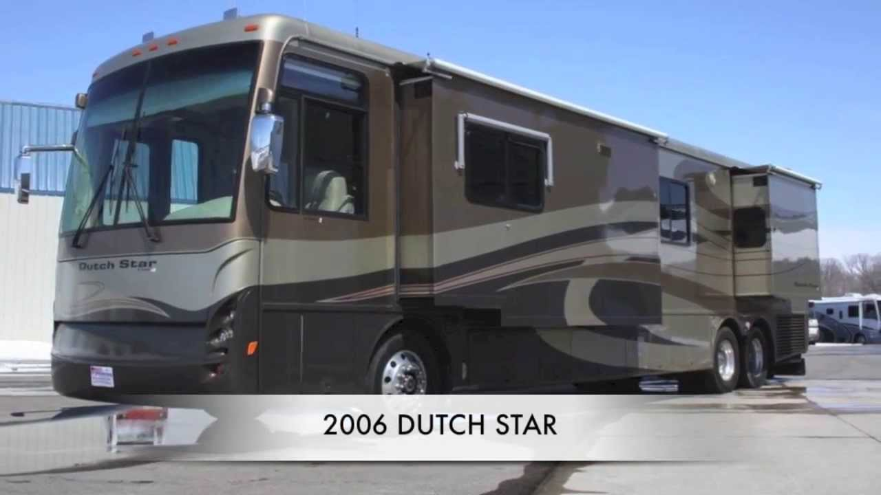 Used Rv For Sale Mn >> Used 2006 Newmar Dutch Star 4306 Diesel Class A Motorhome for Sale in MN - YouTube