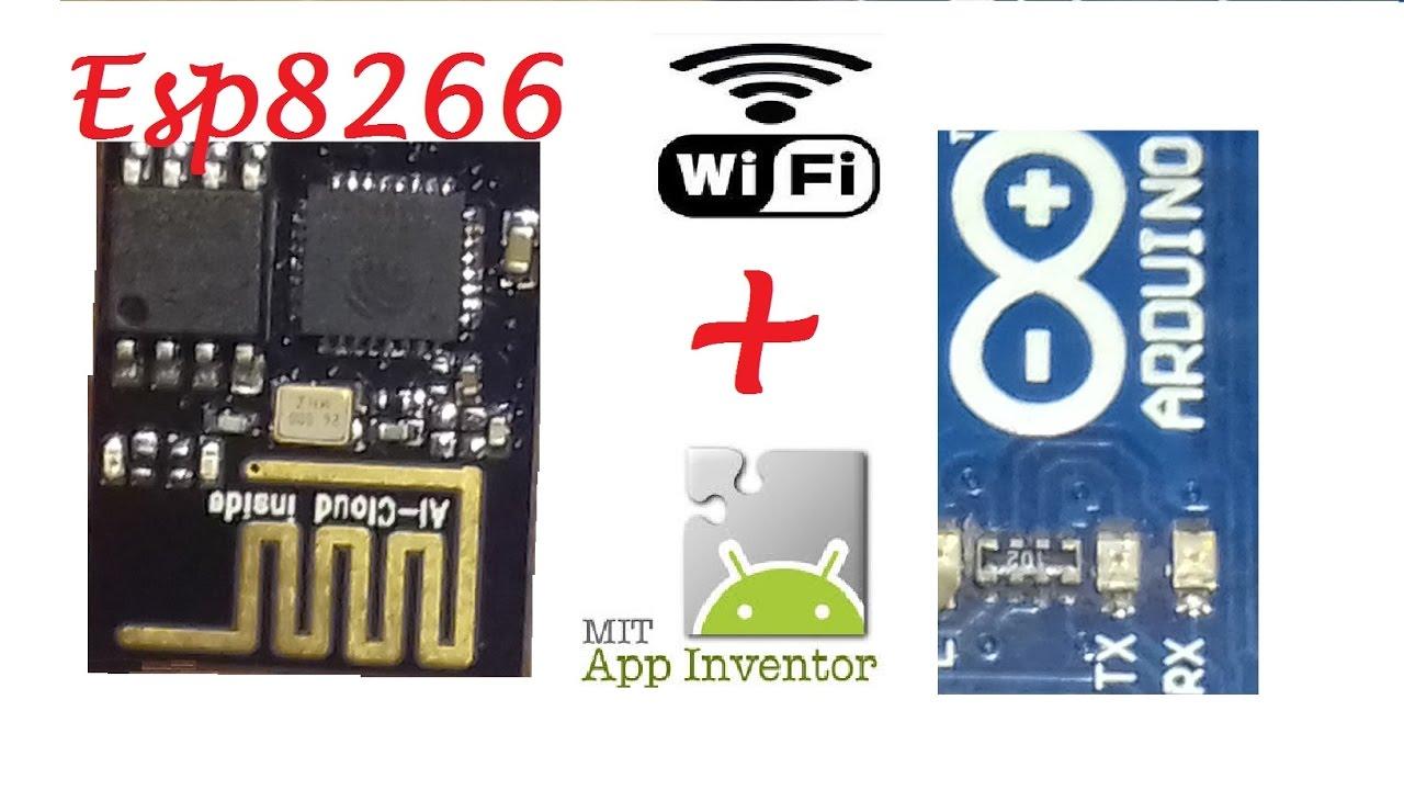 MIT App Inventor 2 Meets Esp8266! #kidSerie-03