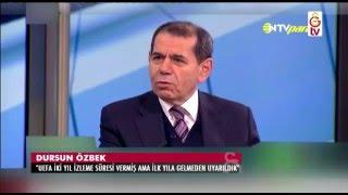 GSTV| Galatasaray Başkanı Dursun Özbek'ten Önemli Açıklamalar