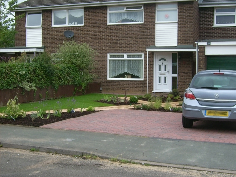 Front Garden Design With Parking Ideas