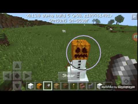 Minecraft-Kar Ve Demir Golemi Yapımı-furkan Oyunda