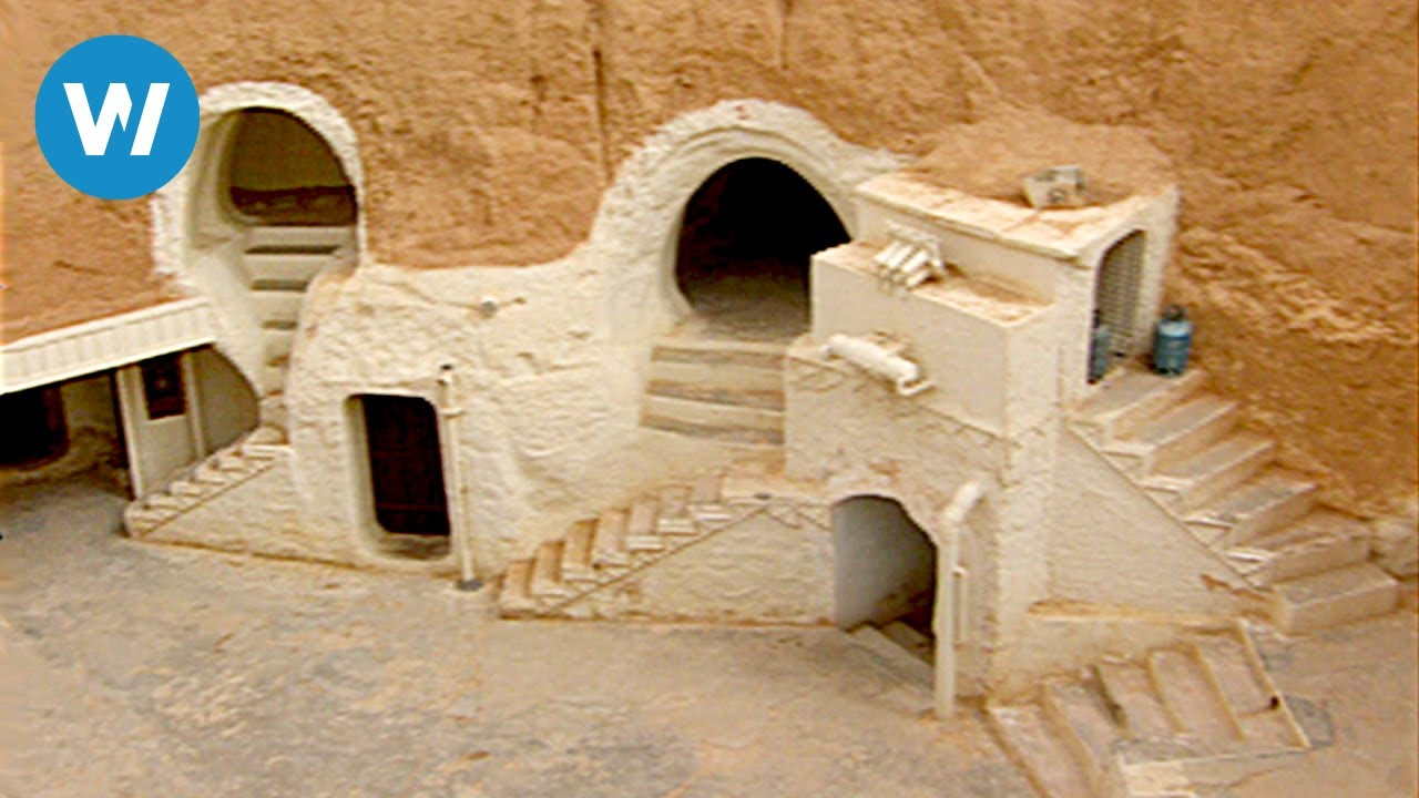 Tunisian Desert And Its Star Wars Sets Tunisia 2005 Youtube