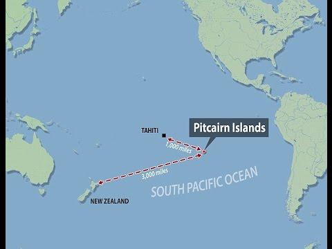 ما هو المكان الأكثر صعوبة للوصول إليه في العالم؟ جزيرة بيتكيرن pitcairn واحدة من هذه الأماكن