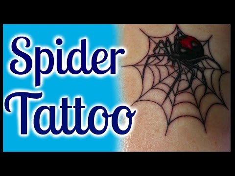 My Spider Tattoo & The Meaning Behind It