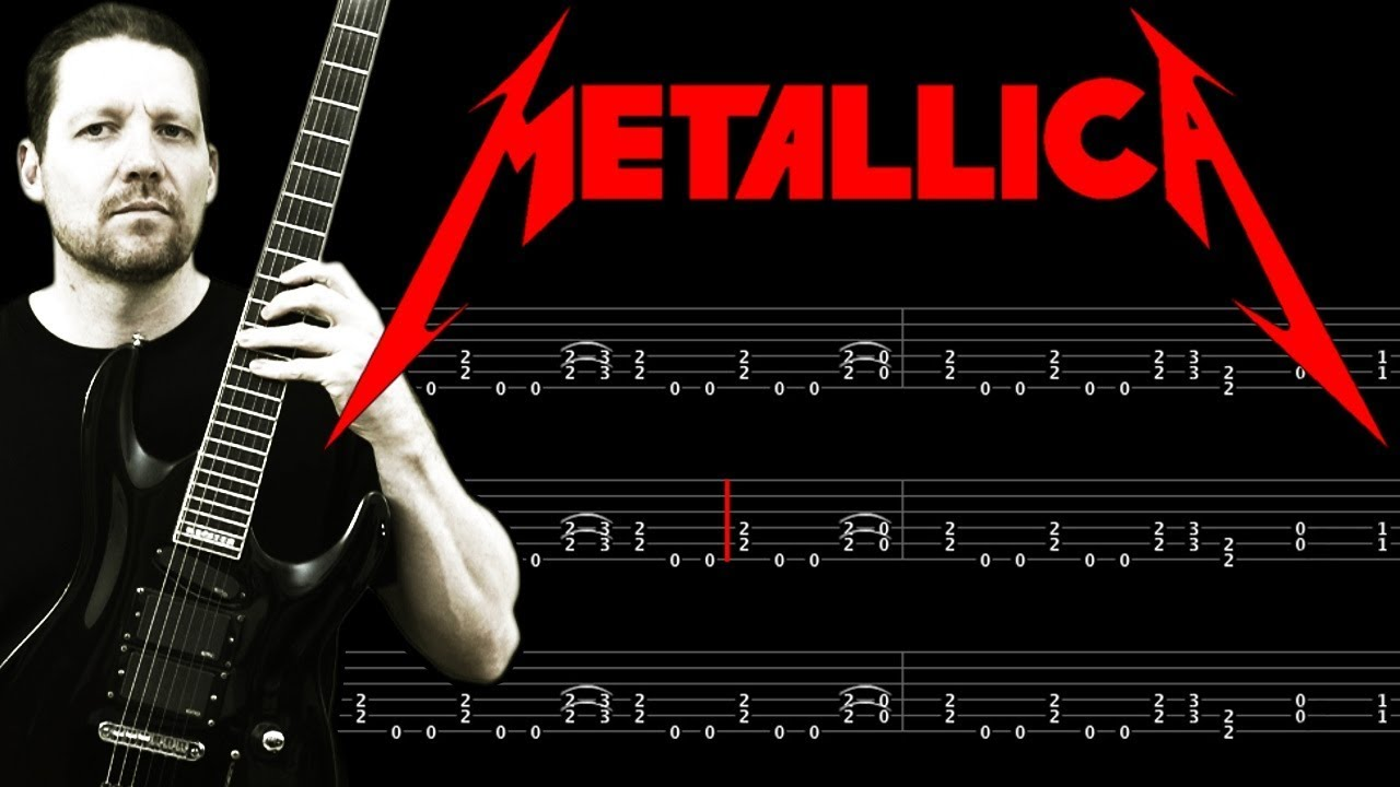 fade to black intro solo metallica guitar tab lesson youtube. Black Bedroom Furniture Sets. Home Design Ideas