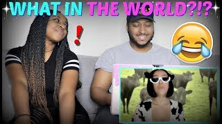 "WTF IS THIS?! | Doja Cat ""Mooo!"" (Official Video) REACTION!!!"