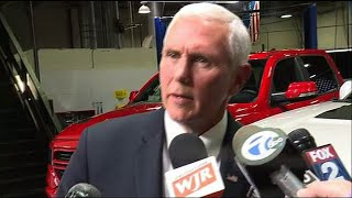 Pence touts new trade deal during Michigan visit