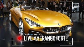 BMW Z4 Concept, di nuovo sportiva | Salone di Francoforte 2017