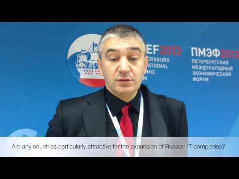 Serguei Beloussov on the International Expansion of Russia's IT Industry