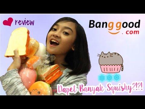 DAPET BANYAK SQUISHY?!?! #1 Review Package from banggood.com (Indonesia) | Friendship DIY