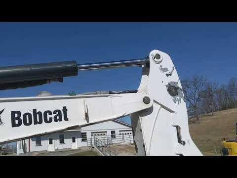 bobcat-e26em-mini-excavator-for-sale:-walk-around-inspection-video-1-of-2!