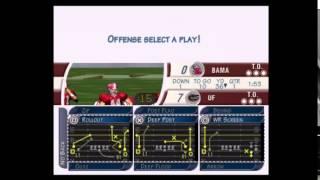 NCAA Football 2002 Florida vs Alabama Part 1