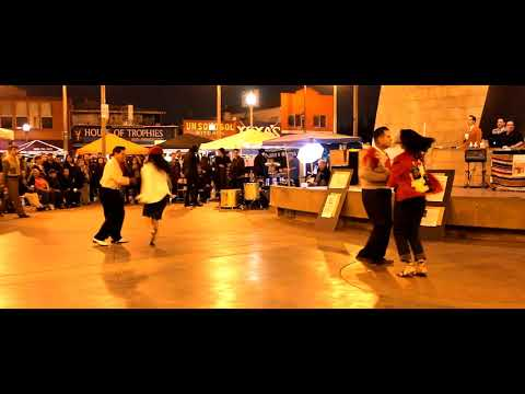 Pachuco Boogie - Dancing @ Mariachi Plaza - Los Angeles