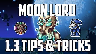 Terraria 1.3 MOON LORD Tips & Tricks! | HOW TO SUMMON Moon Lord | Moon Lord Battle! | PS4 | Mobile