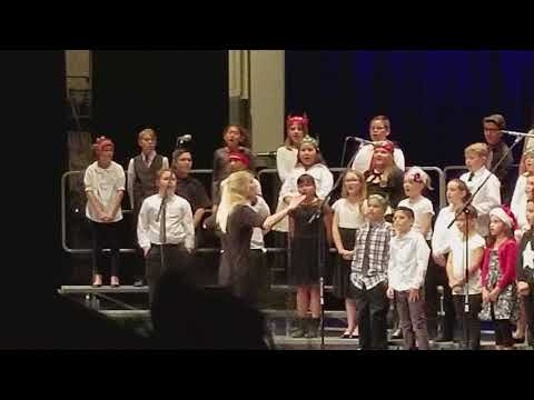 Sahuarita Intermediate School Choir Winter concert pt 1