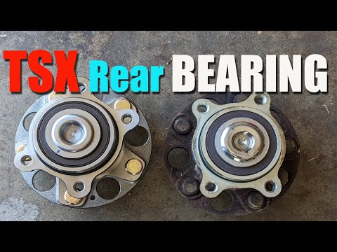 Acura TSX Rear Wheel Bearing Replacement
